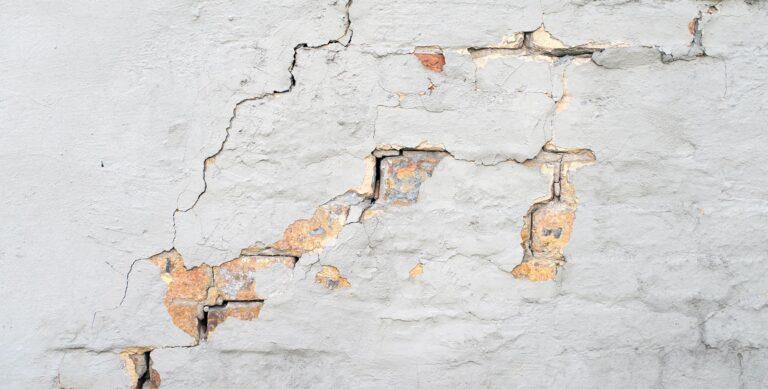 Fissures mur mise en avant