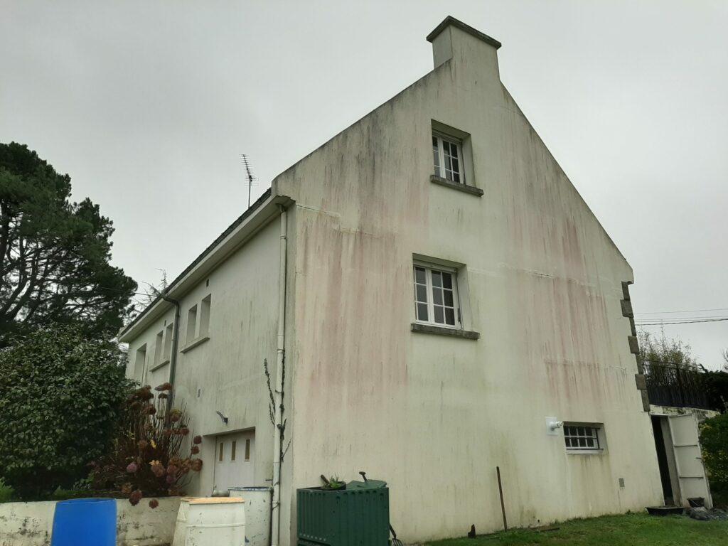 salissures facades pignon ouest