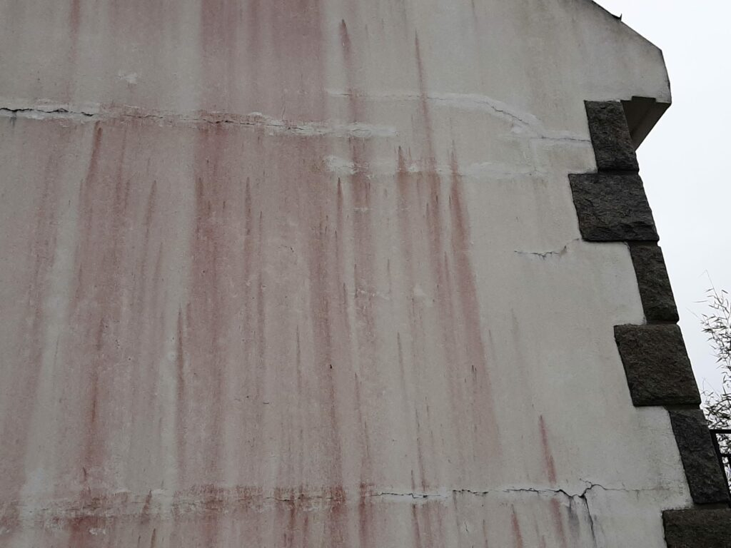 salissures facades